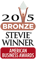 2015 Bronze Stevie Winner